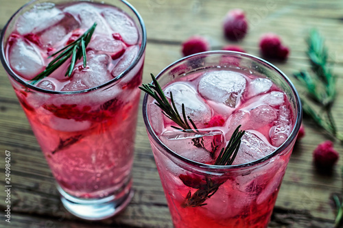 drink tonic beverage ice rosemary gin cocktail