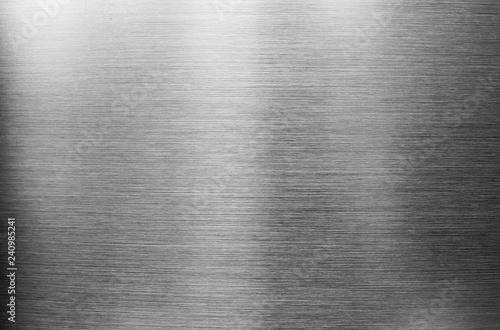 Fotografie, Obraz  Metallic gray background. Textural background for design