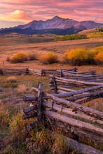 Sunrise On Wilson Mesa Located...
