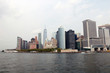 New York City panorama with Manhattan Skyline.