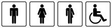 Gz246 GrafikZeichnung - Nmss33 NewModernSanitarySign Nmss - German - WC Toilettensymbol: Toilette Für Alle Geschlechter - Piktogramm - English - All Gender Restroom - WC Toilet Icon Pictogram - G6953