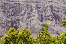 Stone Mountain Sculpture Of Co...