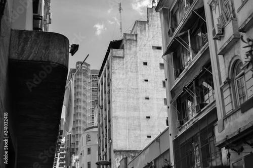 Poster Buenos Aires Edificios en la ciudad de Buenos Aires