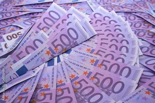 Fotografering  Deutsche Banknoten 500 Euro