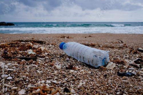 Fotografie, Obraz  Trash, plastic, garbage, bottle