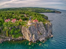 Splitrock Lighthouse State Park Is Located On The North Shore Of Lake Superior In Minnesota