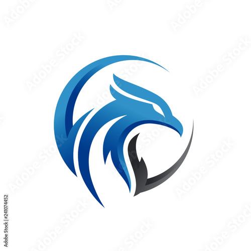 Eagle Logo Templates Wall mural