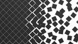 black wall checkered collapse background