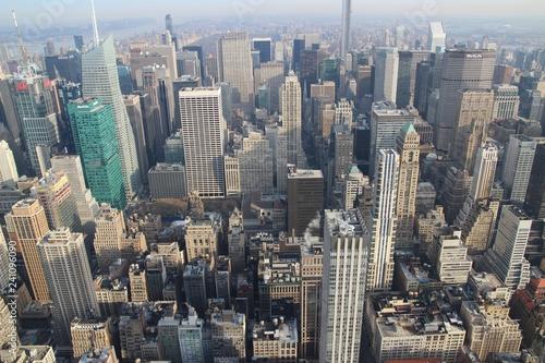 Canvas Prints New York New York von Oben - Skyline Manhattan