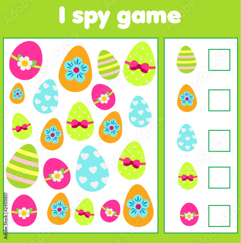 Fotografia  Educational children game
