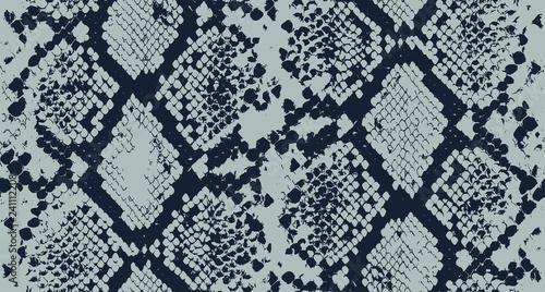 plakat Seamless Snake Skin Pattern