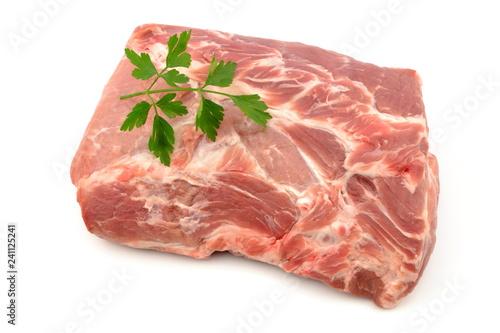 Fototapeta mięso wieprzowe karkówka obraz