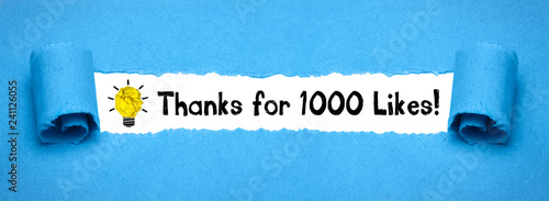 Photo  Thanks for 1000 Likes!