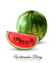 Watermelon Realistic Image