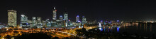 Night Skyline Of Perth, Western Australia