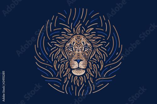 Obraz Leo zodiac sign - fototapety do salonu