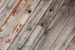 Weathered wood plank floor