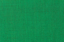 The Structure Is Dark Green Fabric With A Natural Texture. Fabric Background.