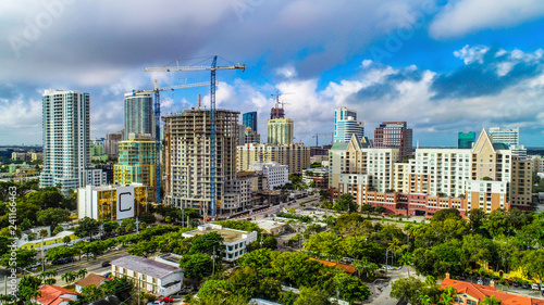 Downtown Fort Lauderdale Florida Skyline