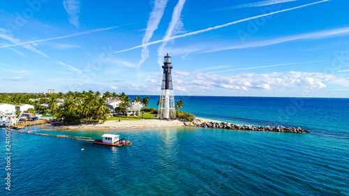 Photo  Lighthouse Point Aerial in Fort Lauderdale, Florida, USA