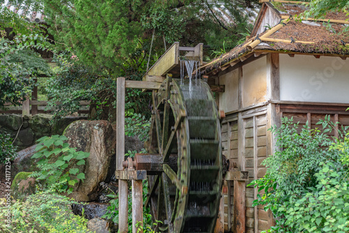 Aluminium Prints Mills 森の中の水車小屋