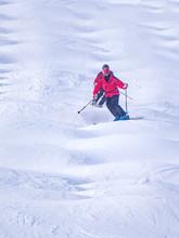 People Are Enjoying Mogul Skii...