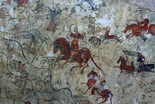Chinese Ancient Mural Painting...