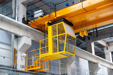Indoors Overhead Crane With A ...