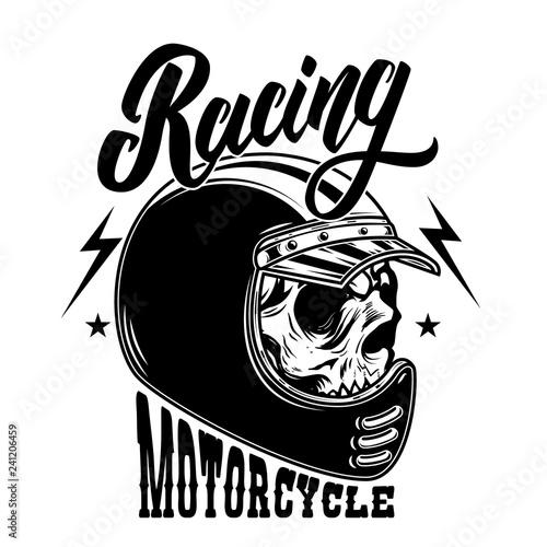 Tableau sur Toile Motorcycle racing