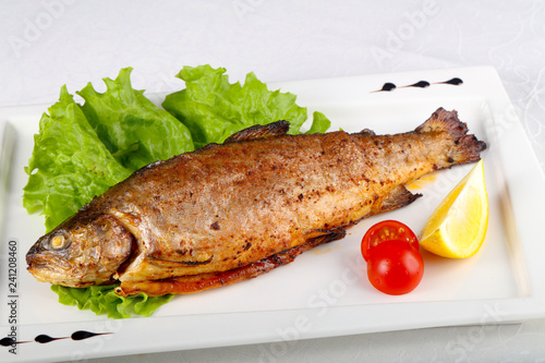 Fotografia Grilled trout