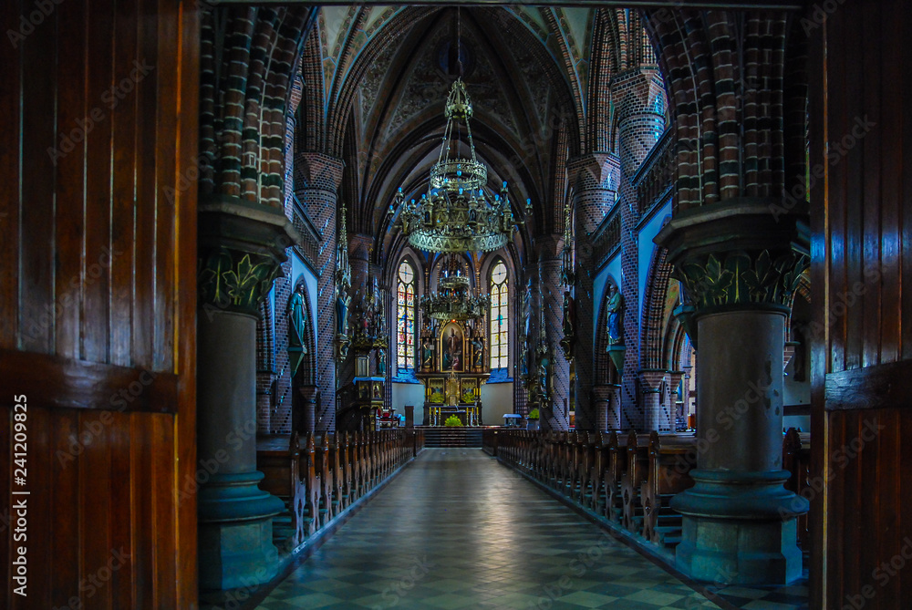 Fototapety, obrazy: The mysterious interior of the sanctuary