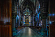 canvas print picture - The mysterious interior of the sanctuary