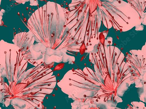 Cadres-photo bureau Artificiel Bold Flower Pattern.