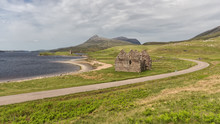 Ardvreck Castle On The Shores Of Loch Assynt, Sutherland