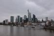 Blick auf die Skyline von Frankfurt am Main