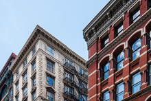 Typical Buildings In Soho In New York