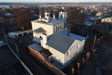 The Church Of Saint Nikolas In Kuvekino, Podolsk Region, Russia