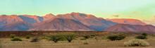 Brandberg Mountain In Namib De...