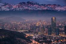 Cordillera De Los Andes En San...