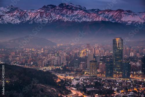 Plakat Andy w Santiago