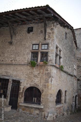 Aluminium Prints Mills Medieval village