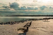 Broken Clouds Narragansett Bay