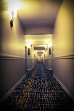 Hallway Of A Hotel