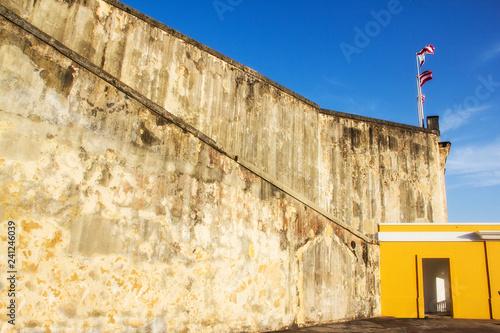 Fotografie, Obraz  old castle in San Juan Puerto Rico