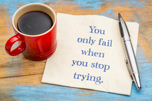 You Only Fail When ...
