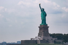 Statue Of Liberty Dedicated On...