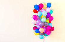 Set Of Colorful Balloons
