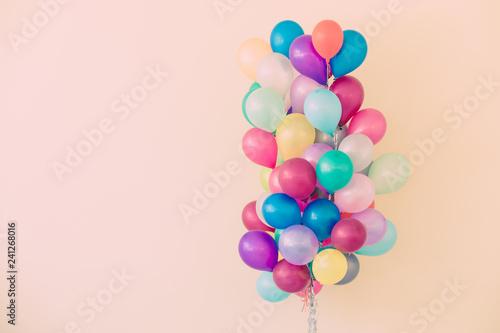 Tela Set of colorful balloons