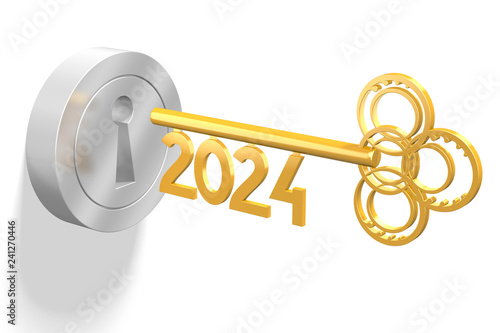 Fotografia  3D key concept - 2024