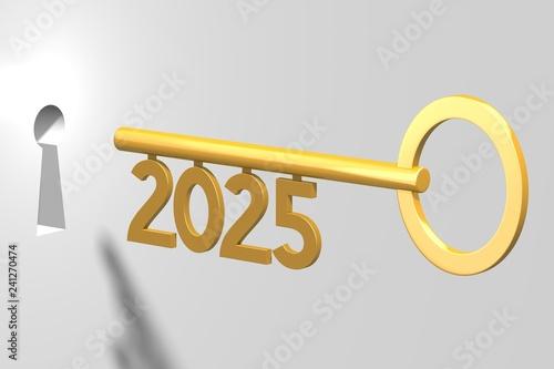 Fotografia  3D key concept - 2025